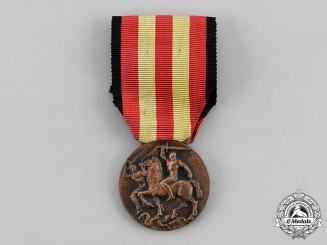 Italy, Fascist State. A Spanish Campaign Medal