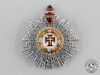 Portugal, Kingdom. A Military Order of Christ, Commander's Star, c. 1900