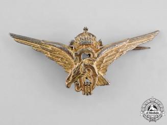 Bulgaria, Kingdom. A Pilot Qualification Badge, c.1940