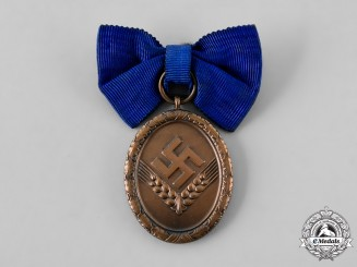 Germany, RAD. A Reich Labour Service Long Service Medal, IV Class for 4 Years, Women's Version