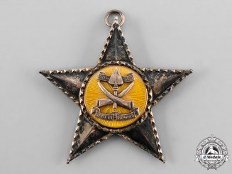 Malaysia, Sultanate of Pahang. An Esteemed Order of the Crown of Pahang, I Class Grand Knight Sash Badge, c. 1975