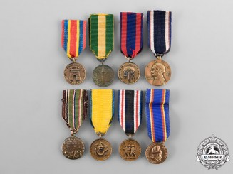 United States. A Lot of Miniature Medals