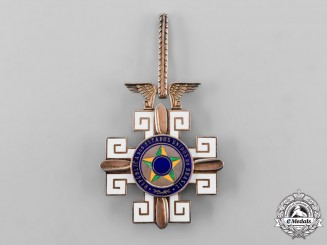 Brazil, Republic. An Order of Aeronautical Merit, Commander's Cross, c.1950
