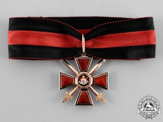 Russia, Imperial. An Order of Saint Vladimir in Gold, IV Class, by Eduard, c. 1914