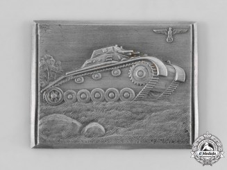 Germany, Wehrmacht. A Panzer Company Commemorative Plaque