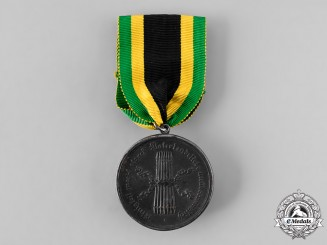 Saxe-Coburg-Saalfeld, Duchy. A Medal for Volunteers of the German 5th Corps, c.1814