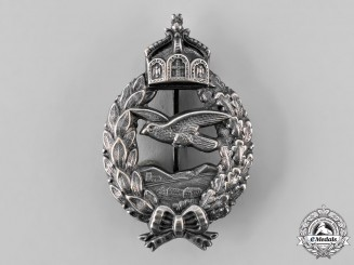 Germany, Imperial. A Commemorative Flyer Badge, by C. E. Juncker