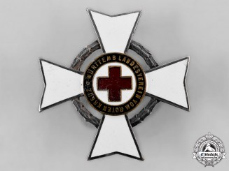 Germany, Weimar Republic. A Decoration of the Württembergische Landesverein of the Red Cross 25 Years