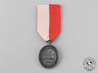 Hamburg, Free City. A City Police Long Service Medal, c.1890