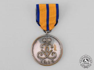 Schwarzburg-Sondershausen, Principality. A War Merit Medal 1914