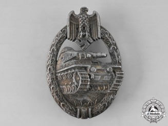 Germany, Wehrmacht. A Panzer Badge, Bronze Grade, by Steinhauer & Lück