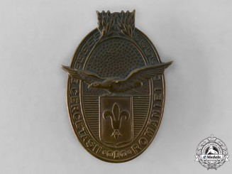 Romania, Kingdom. A Romanian Scouts Badge
