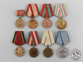 Russia, Soviet Union. A Lot of Eight Medals & Awards
