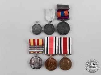 United Kingdom. A Lot of Six Medals & Decorations