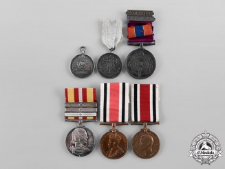 United Kingdom. A Lot of Six Medals & Decorations