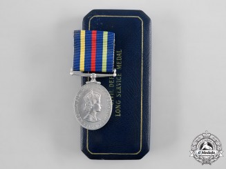 United Kingdom. A Civil Defence Long Service Medal
