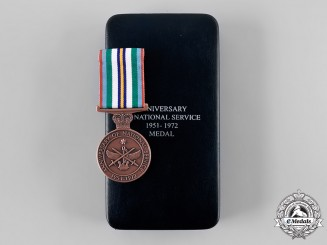 Australia, Commonwealth. An Anniversary of National Service Medal 1951-1972