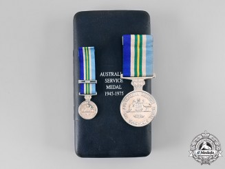 Australia, Commonwealth. An Australian Service Medal 1945-1975 with Case