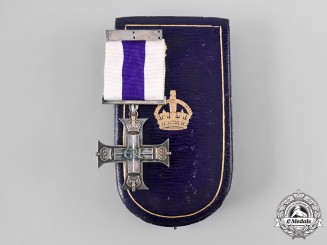 United Kingdom. A George VI Military Cross with Case