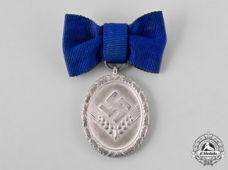 Germany, RAD. A Reich Labour Service Long Service Medal, II Class for 18 Years, Women's Version