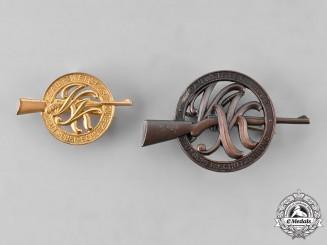 Germany, DSB. Two DSB Award Badges