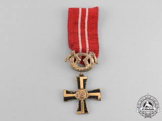 Finland, Republic. An Order of the Cross of Liberty, III Class, Military Division, c.1918