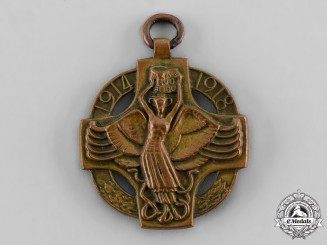Czechoslovakia, Republic. A Revolutionary Medal 1914-1918