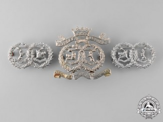 United Kingdom. An Argyll & Sutherland Highlanders (Princess Louise's) Insignia Set
