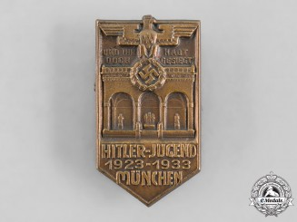 Germany, HJ. A 1933 Munich 10th Anniversary Badge