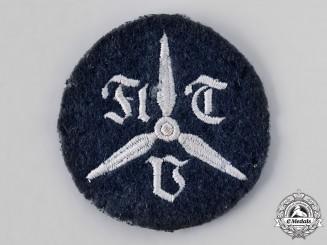 Germany, Luftwaffe. A Technical Flight School Sleeve Insignia