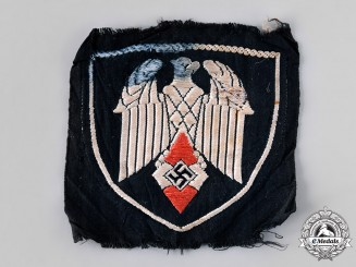 Germany, HJ. A Standard Bearer's Sleeve Insignia