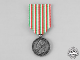 Italy, Kingdom. A Medal for the Italian Independence Wars and Unification 1865