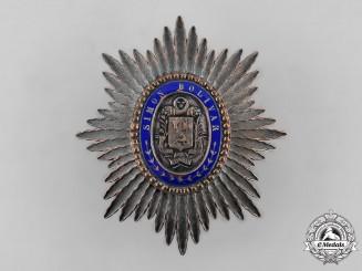 Venezuela, Republic. An Order of the Liberator, Commander's Star c.1900