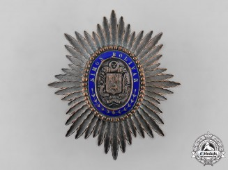 Venezuela, Republic. An Order of the Liberator, Commander's Star c.1900