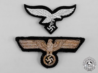 Germany, Wehrmacht. A Pair of Uniform Eagles