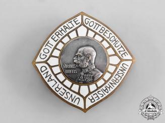 Austria, Imperial. A Franz Joseph I Patriotic Navy Badge