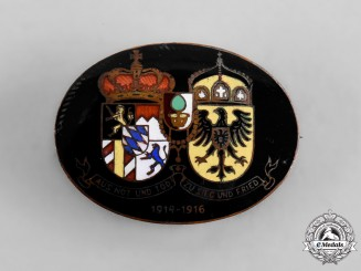 Germany, Imperial. A Kingdom of Bavaria & Prussia Patriotic Badge