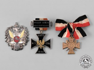 Germany, Imperial. A Lot of Association Medals & Awards