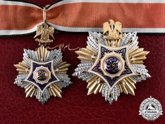 Egypt, Republic. An Order of Merit, II Class with Case, by Fahmy T. Bichay, c.1960