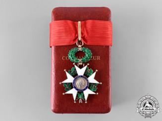 France, V Republic. A Legion of Honour, Commander with Case, c. 1970