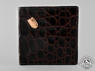 Spain, Fascist State. A Wallet Attributed to General Francisco Franco