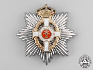 Greece, Kingdom. An Order of George I, Civil Division, Grand Cross Breast Star, c. 1950