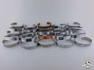 Twenty-Nine Vietnam War POW/MIA Bracelets
