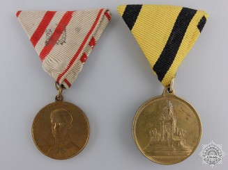 Two Austrian Medals and Awards