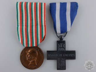 Two First War Italian War Medals