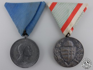 Two Hungarian Campaign Medals