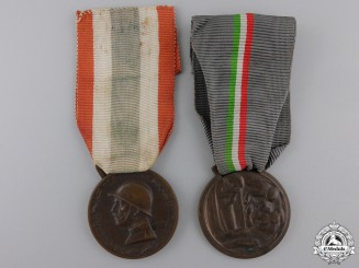 Two Italian War & Campaign Medals