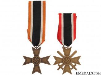 Two Merit Crosses