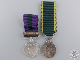 Two Miniature British Awards