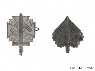 Two NSKOV Disabled War Veterans Pins